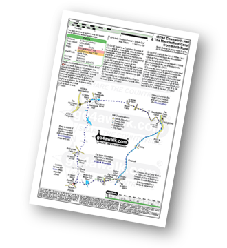 Walk route map with easy-to-follow route instructions for Cheshire walk ch148 Gawsworth Hall from North Rode pdf