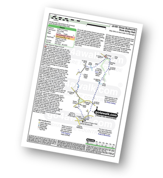 Walk route map with easy-to-follow route instructions for walk ch161 Great Budworth from Arley Hall pdf
