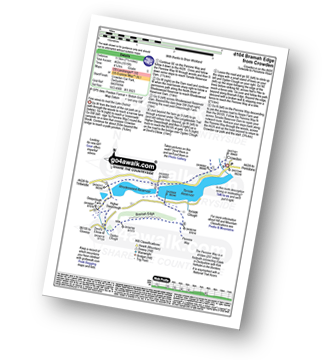 Walk route map with easy-to-follow route instructions for walk d104 Bramah Edge from Crowden pdf