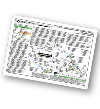 Walk route map with easy-to-follow route instructions for walk d118 Lose Hill (Ward's Piece), Back Tor (Hollins Cross) and Castleton from Hope pdf