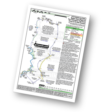 Walk route map with easy-to-follow route instructions for Derbyshire walk d134 Wolfscote Dale, Biggin Dale, Biggin and The Tissington Trail from Alsop-en-le-Dale Station pdf
