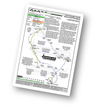 Walk route map with easy-to-follow route instructions for walk d137 Tissington Trail and Parwich from Tissington pdf