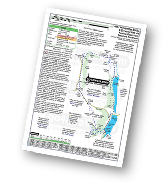 Walk route map with easy-to-follow route instructions for walk d257 Windgather Rocks and Errwood Hall via Foxlow Edge from Errwood Reservoir pdf