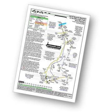 Walk route map with easy-to-follow route instructions for walk dn143 Dyserth and The Offa's Dyke Path from Prestatyn pdf