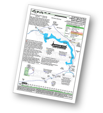 Walk route map with easy-to-follow route instructions for walk du144 High Cup Nick and Meldon Hill from Cow Green Reservoir pdf
