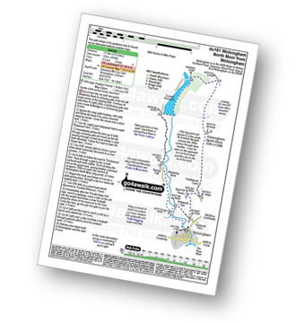 Walk route map with easy-to-follow route instructions for County Durham walk du161 Wolsingham North Moor from Wolsingham pdf