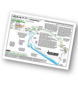 Walk route map with easy-to-follow route instructions for walk es100 Seven Sisters and Westdean from East Dean pdf