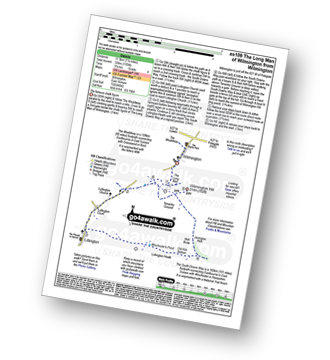 Walk route map with easy-to-follow route instructions for walk es109 The Long Man of Wilmington from Wilmington pdf