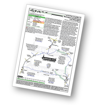 Walk route map with easy-to-follow route instructions for walk es118 The Long Man of Wilmington and Jevington from Wilmington pdf