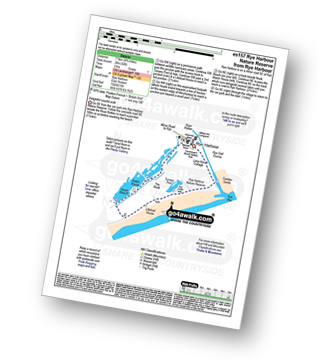 Walk route map with easy-to-follow route instructions for walk es157 Rye Harbour Nature Reserve from Rye Harbour pdf