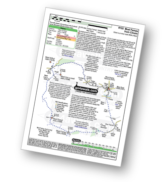Walk route map with easy-to-follow route instructions for walk fl155 Moel Famau and Cilcain pdf