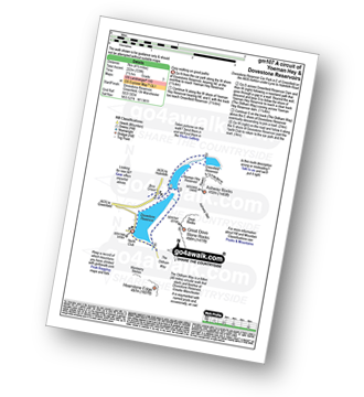 Walk route map with easy-to-follow route instructions for walk gm107 A circuit of Yoeman Hey Reservoir and Dove Stone Reservoir, Greenfield pdf
