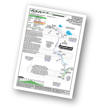 Walk route map with easy-to-follow route instructions for walk gw105 Snowdon via The Watkin Path from Nantgwynant pdf