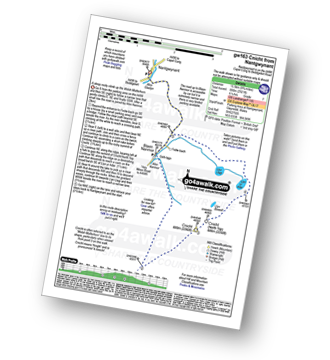 Walk route map with easy-to-follow route instructions for walk gw163 Cnicht from Nantgwynant pdf