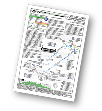 Walk route map with easy-to-follow route instructions for Highland walk h102 Bidean nam Bian and Stob Coire Sgreamhach pdf