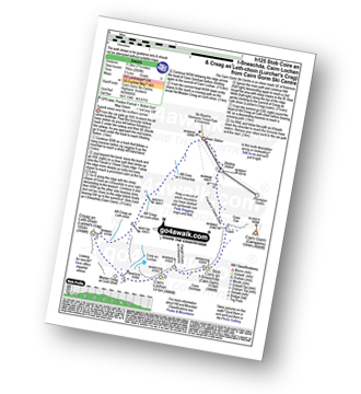Walk route map with easy-to-follow route instructions for walk h125 Stob Coire an t-Sneachda (Cairn Gorm), Cairn Lochan and Creag an Leth-choin (Lurcher's Crag) from Cairn Gorm Ski Centre pdf