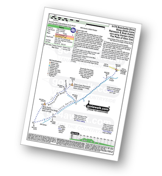 Walk route map with easy-to-follow route instructions for Highland walk h179 Stob Coire Raineach (Buachaille Etive Beag) and Buachaille Etive Beag (Stob Dubh) via Lairig Gartain from The Pass of Glencoe pdf