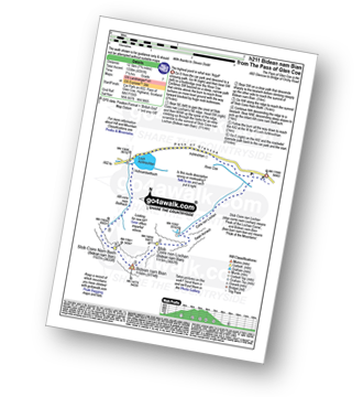 Walk route map with easy-to-follow route instructions for Highland walk h211 Bidean nam Bian from Pass of Glen Coe pdf