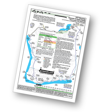 Walk route map with easy-to-follow route instructions for walk h237 Boreraig, Suisnish and Camas Malag from Loch Cill Chriosd pdf
