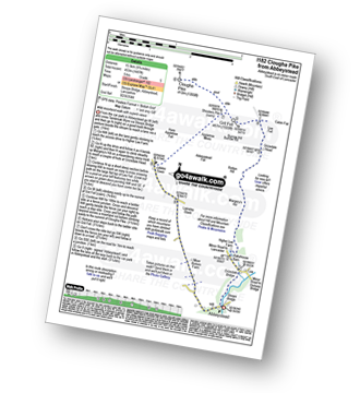 Walk route map with easy-to-follow route instructions for walk l182 Clougha Pike from Abbeystead pdf