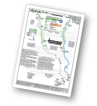 Walk route map with easy-to-follow route instructions for walk n140 Cushat Law and Bloodybush Edge from Alwinton pdf