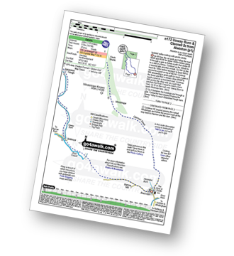 Walk route map with easy-to-follow route instructions for walk n172 Usway Burn and Clennel St from Alwinton pdf