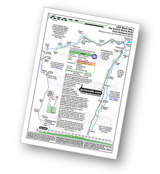 Walk route map with easy-to-follow route instructions for walk n200 The Schil from Hethpool pdf