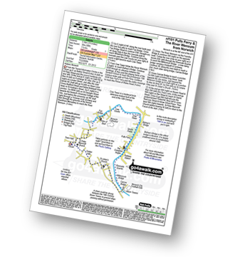 Walk route map with easy-to-follow route instructions for walk nf101 Pulls Ferry and The River Wensum from Norwich pdf