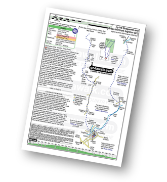 Walk route map with easy-to-follow route instructions for walk ny116 Gragareth and Green Hill from Ingleton pdf