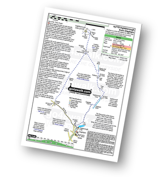 Walk route map with easy-to-follow route instructions for walk ny119 Ingleborough from Clapham pdf