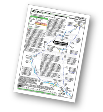 Walk route map with easy-to-follow route instructions for walk ny145 Tan Hill and Robert's Seat from Keld pdf