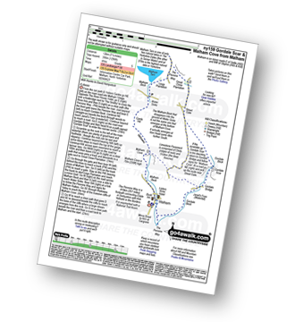Walk route map with easy-to-follow route instructions for walk ny159 Gordale Scar and Malham Cove from Malham pdf