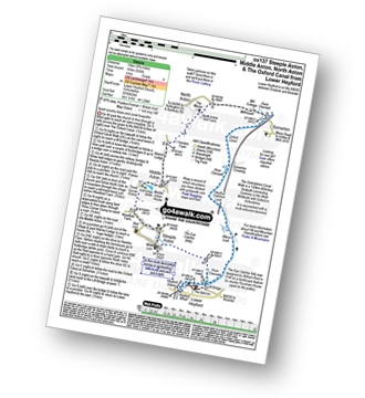Walk route map with easy-to-follow route instructions for Oxfordshire walk ox137 Steeple Aston, Middle Aston, North Aston and The Oxford Canal from Lower Heyford pdf