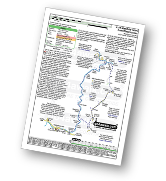 Walk route map with easy-to-follow route instructions for walk s101 Manifold Way from Waterhouses pdf