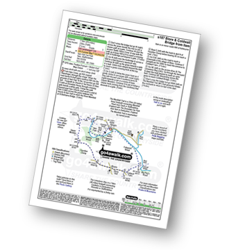 Walk route map with easy-to-follow route instructions for walk s187 Blore and Coldwall Bridge from Ilam pdf