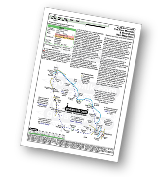 Walk route map with easy-to-follow route instructions for walk s226 Blore, Ilam, The River Manifold and The River Dove from Mappleton (aka Mapleton) pdf