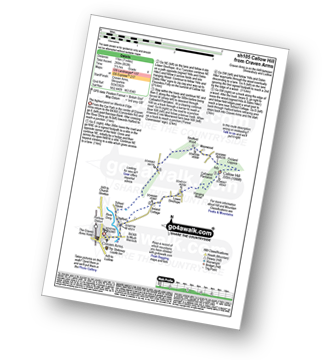 Walk route map with easy-to-follow route instructions for walk sh105 Callow Hill from Craven Arms pdf
