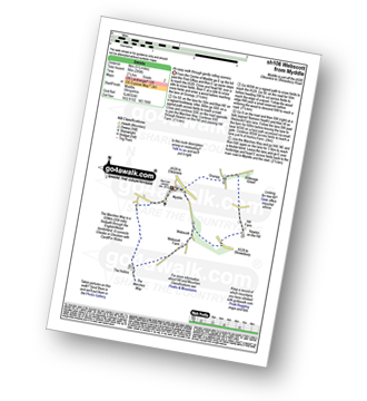 Walk route map with easy-to-follow route instructions for walk sh106 Webscott from Myddle pdf