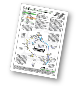 Walk route map with easy-to-follow route instructions for walk sh109 Chelmarsh and Hampton Loade from Eardington pdf
