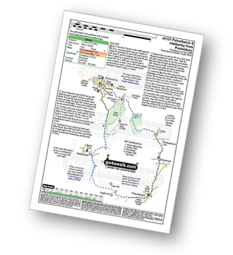 Walk route map with easy-to-follow route instructions for Shropshire walk sh121 Pulverbatch and Habberley from Pontesbury pdf