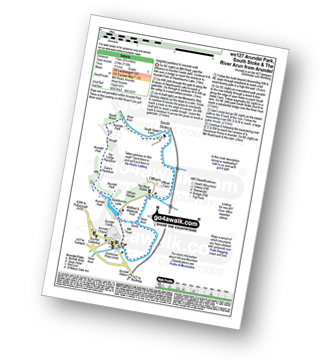 Walk route map with easy-to-follow route instructions for walk ws127 Arundel Park, South Stoke and The River Arun from Arundel pdf