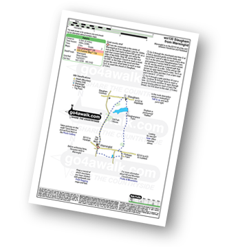 Walk route map with easy-to-follow route instructions for walk ws130 Slaugham from Warninglid pdf