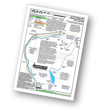 Walk route map with easy-to-follow route instructions for West Yorkshire walk wy110 Stoodley Pike and Warlands Reservoir from Lobb Mill pdf