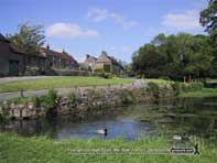 Tissington Village Pond, Derbyshire
