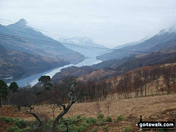 Loch Leven from the top of the Waterfalls above Kinlochmore (Grey Mares Trail)