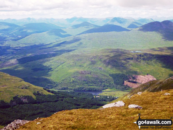The view from the top of Stob Binnein