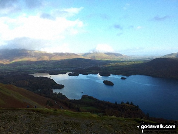 Derwent Water from Cat Bells (Catbells)
