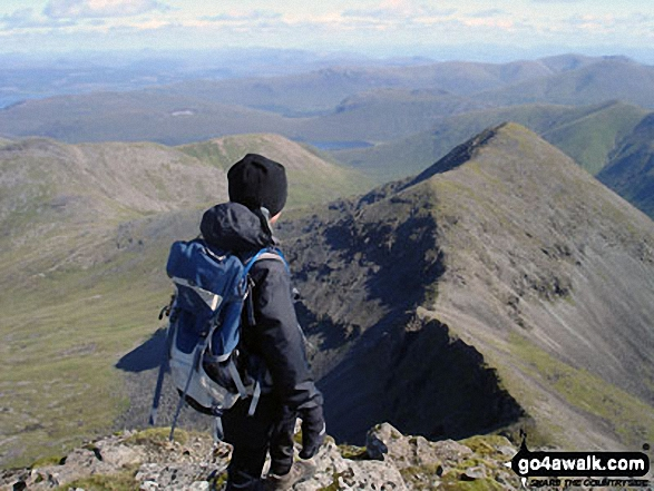 Looking across to A' Chioch from Ben More (Isle of Mull)