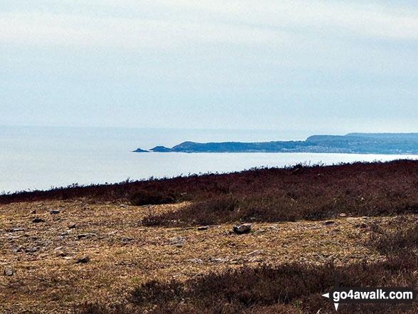 Swansea Bay and the coast from Foel Fynyddau