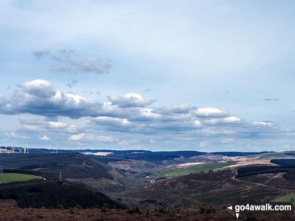The view from Foel Fynyddau